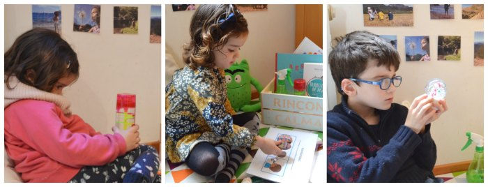 rincón calma, mesa paz montessori para la regulación y educación emocional