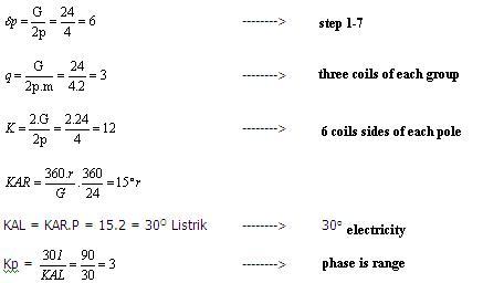 Induction motor winding calculator for Three phase motor winding formula