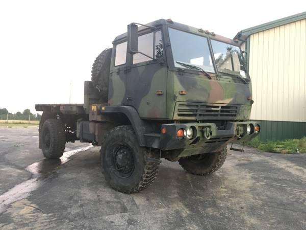 LMTV M1081 4x4 Military Truck