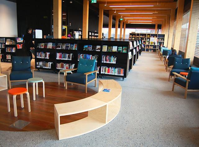 Thư viện đọc sách tại Eco dream city