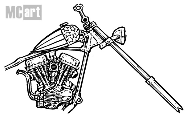 V Twin Engine Drawings, V, Free Engine Image For User