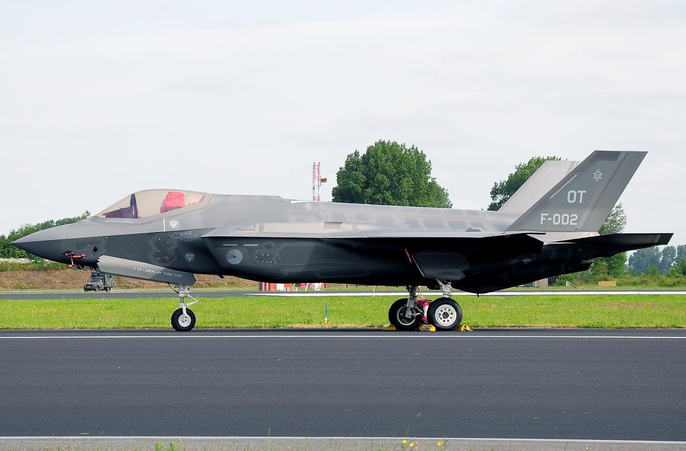 Cutaway F 35 Lockheed Martin
