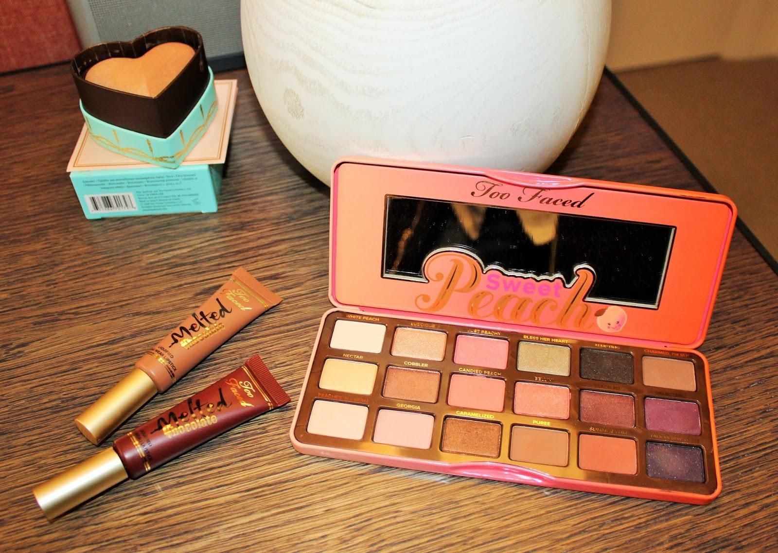 Debenhams Beauty Press Day - SS16 6 - Too Faced Sweet Peach Eyeshadow Palette