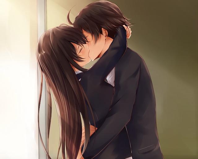 wallpaper kiss