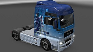 Fantastic Night skin pack for all trucks