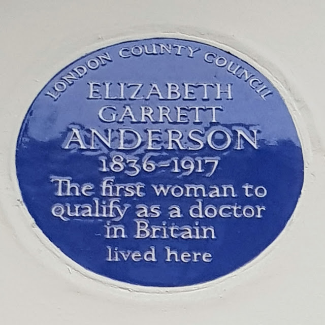 Blue Plaque for Elizabeth Garrett Anderson