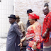PHOTOS: Jonathan, wife arrive Rivers