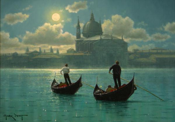 """Beautiful Paintings By """"MARK PETTIT"""""""