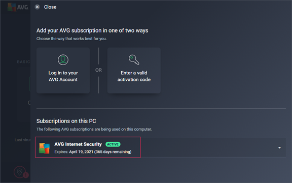 AVG Internet Security 2020 License Key Active