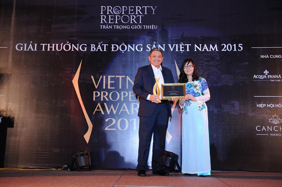 Gamuda Gardens nhận danh hiệu khu đô thị tốt nhất Hà Nội năm 2015