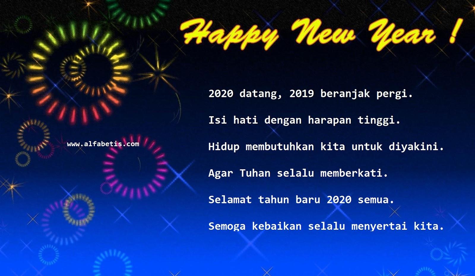 Kartu Ucapan Tahun Baru Paling Menarik
