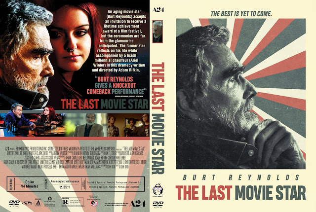 The Last Movie Star DVD Cover