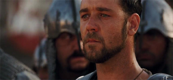 Screen Shot Of Hollywood Movie Gladiator (2000) In Hindi English Full Movie Free Download And Watch Online at worldofree.co