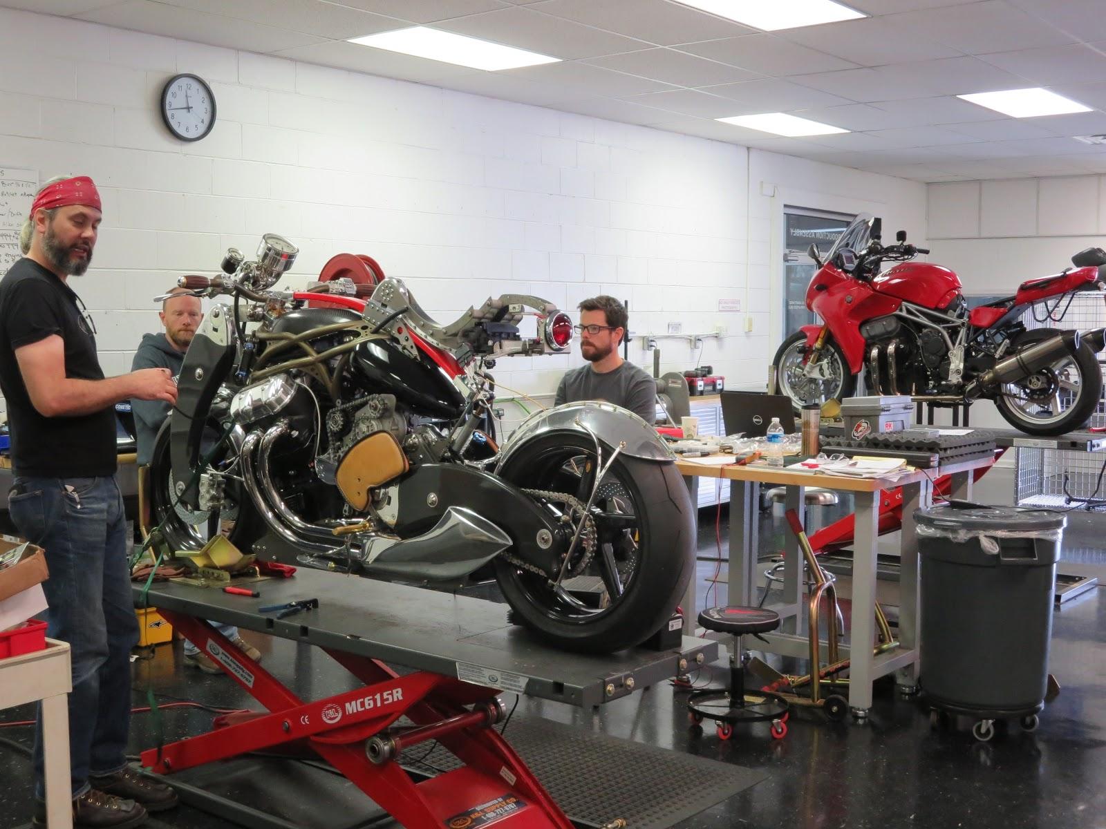 Bienville Legacy Motorcycle Motus Factory