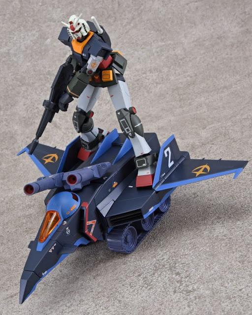 Robot Spirits <SIDE MS> Gundam & G Fighter Set Real Type Color - Tamashii NationsRobot Spirits <SIDE MS> Gundam & G Fighter Set Real Type Color - Tamashii Nations