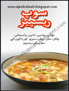 Soup Recipe Cooking Guide Book in Urdu