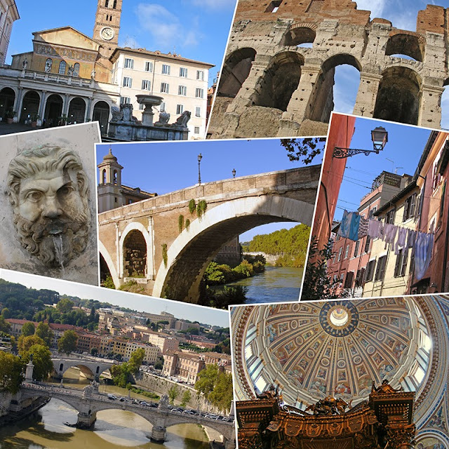 Collage photo de Rome en Italie