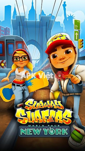 download game subway surf new york mod apk