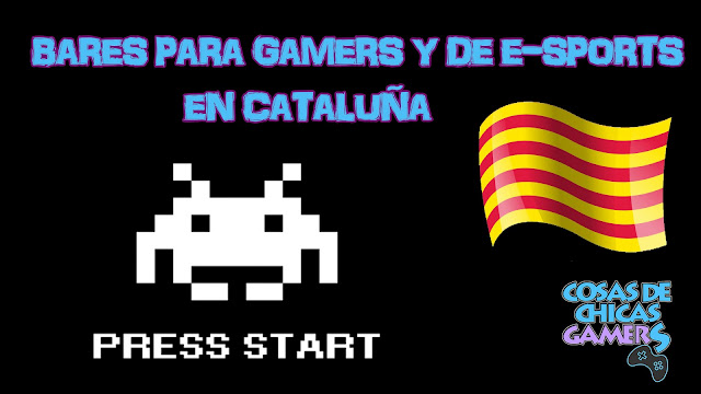 Bares gamers y de e-sports Barcelona