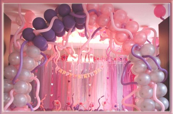 Girly Balloon Gate