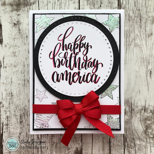 Happy Birthday America Card With FREE DOWNLOAD LINK