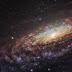 NGC 7331 - uma galáxia espiral em Pegasus