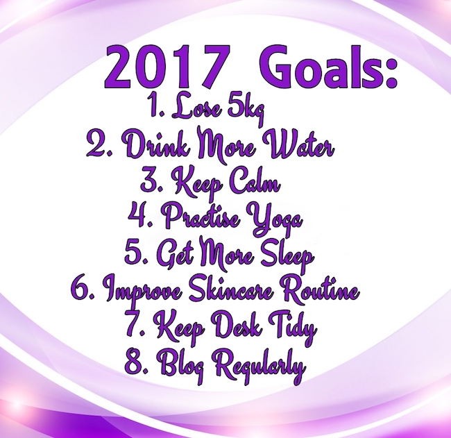 Goals And Resolutions For 2017