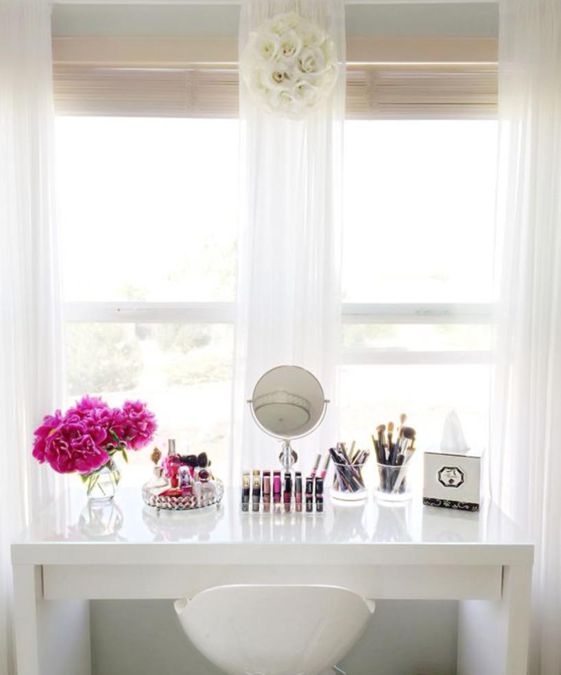 Makeup Collection Storage Ideas