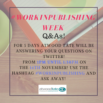 #WorkinPublishing Q&A Image