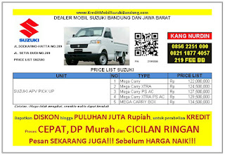 Suzuki APV Pick UP Bandung 2016, Harga Suzuki APV Pick UP 2016, Kredit Suzuki APV Pick UP 2016