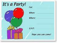 free printable invitations