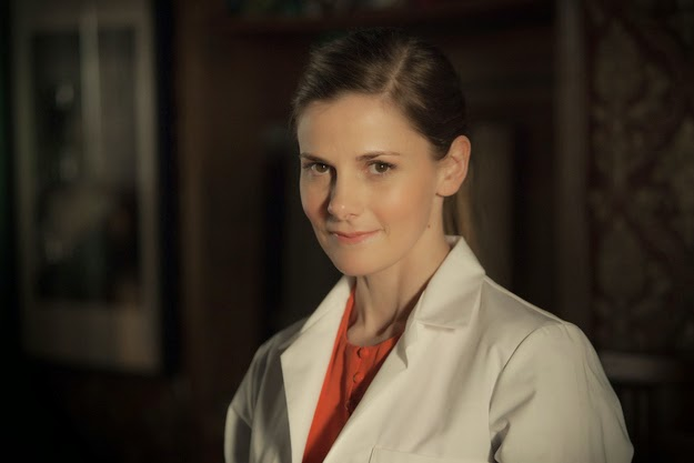 Louise Brealey as Molly Hooper in BBC Sherlock Season 3 Episode 1 The Empty Hearse