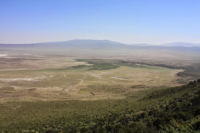 tansania safari afrikka matka ngorongoro kraateri