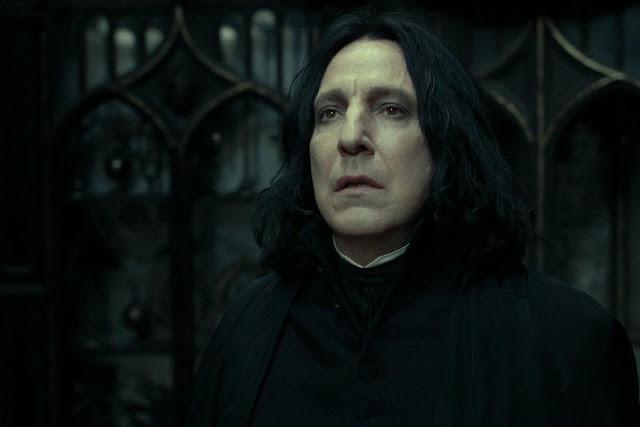 Alan Rickman nei panni di Severus Piton | Alan Rickman migliore attore britannico di sempre