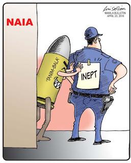 tanim bala, bullet planting, NAIA, NAIA Bullet Planting Scam,