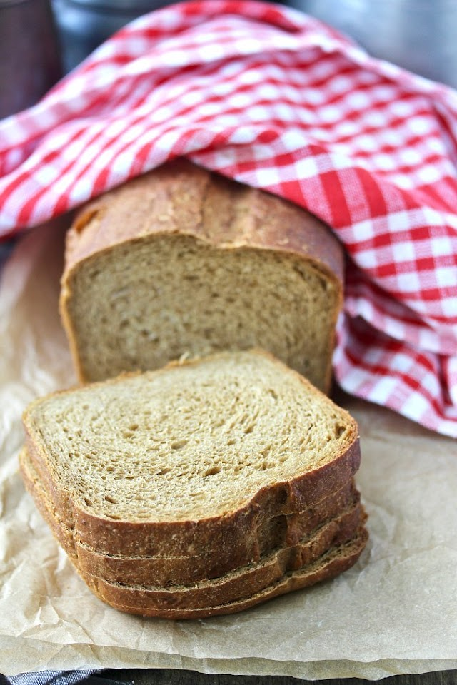 Old Fashioned Oatmeal Bread   Karen's Kitchen Stories