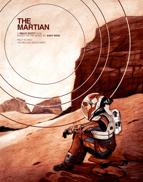 The Ninja Bot movie poster The Martian
