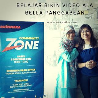 Belajar Bikin Vlog Ala Bella Panggabean