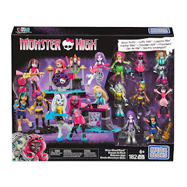 MH Glam Ghoul Band Clawdeen Wolf Mega Blocks Figure