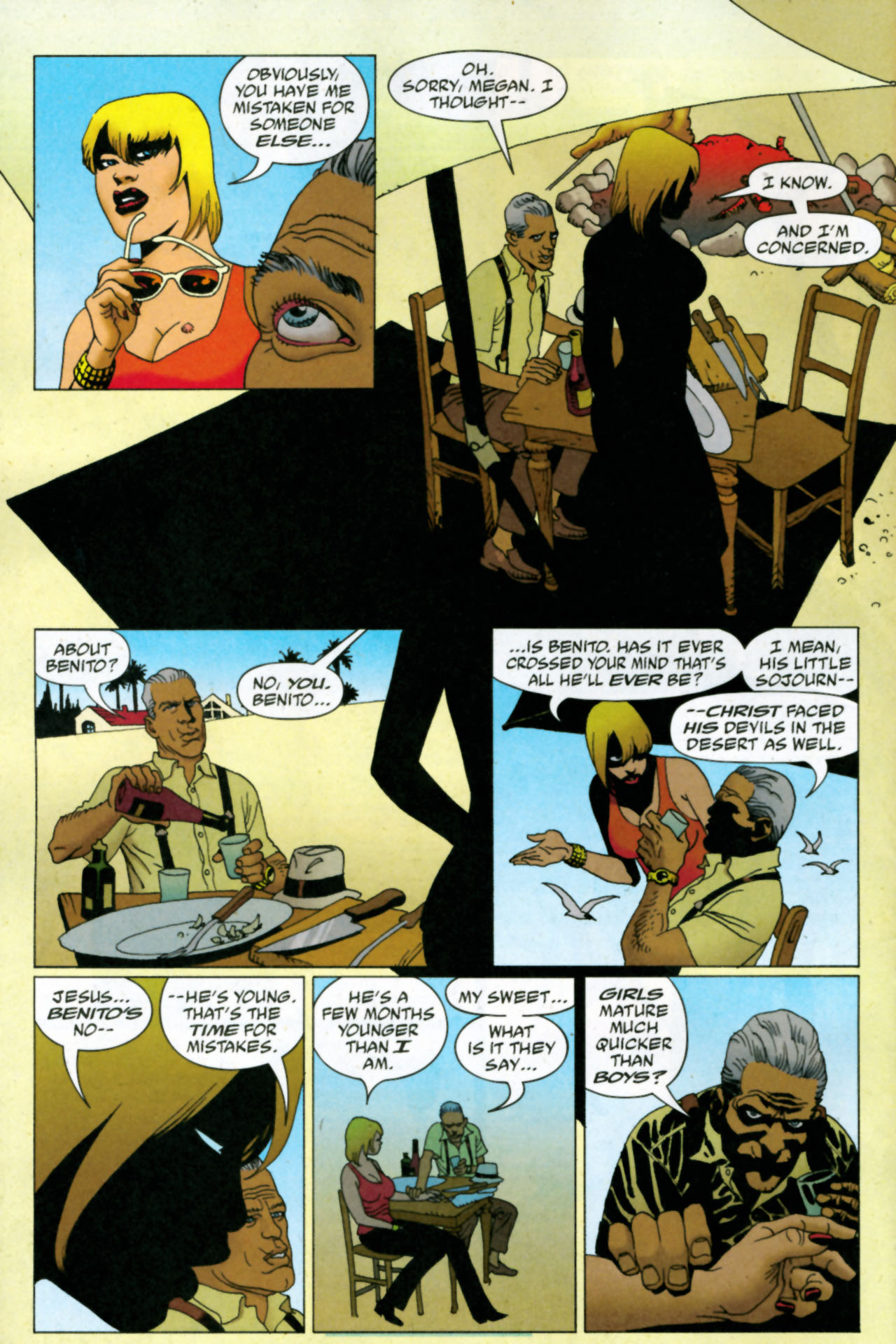 Read online 100 Bullets comic -  Issue #85 - 9