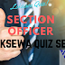 Section Officer Preparation Quiz Set 2 | Loksewa Quiz 2074