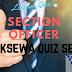 Section Officer Preparation Quiz Set 2 | Loksewa Quiz 2074