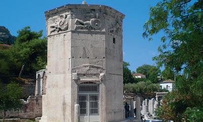 «Δεξίωση» στον Πύργο των Ανέμων