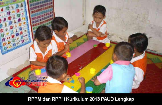 Download RPPM dan RPPH Kurikulum 2013 PAUD Lengkap di Wikipedia Pendidikan