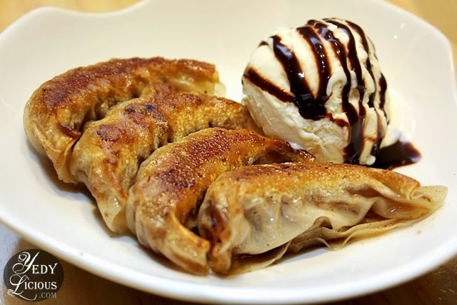 Osaka Ohsho PH New Gyoza: Bacon and Cheese Gyoza / Peanut Butter and Banana Dessert Gyoza. Osaka Osho SM Megamall New Menu, Address, Contact No, Facebook Page.