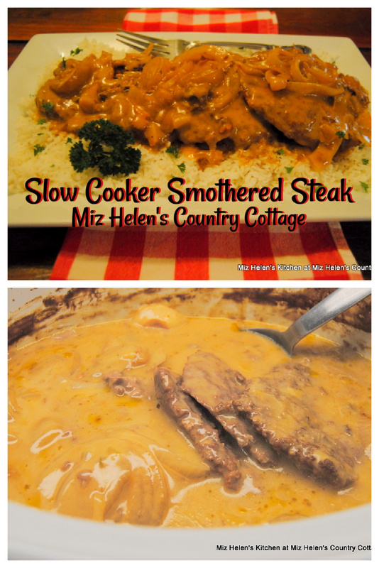 Slow Cooker Smothered Steak