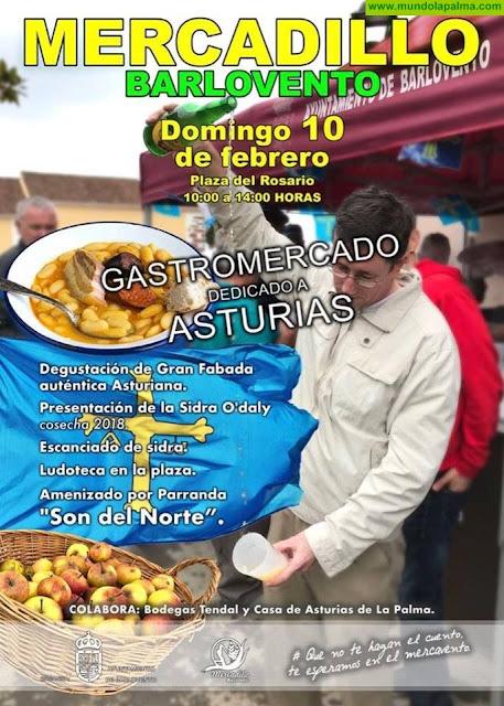 Mercadillo de Barlovento - Gastromercado dedicado a Asturias
