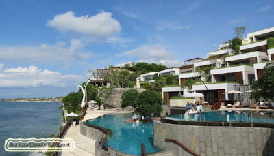 Kolam Renang Anantara Uluwatu Bali Resort