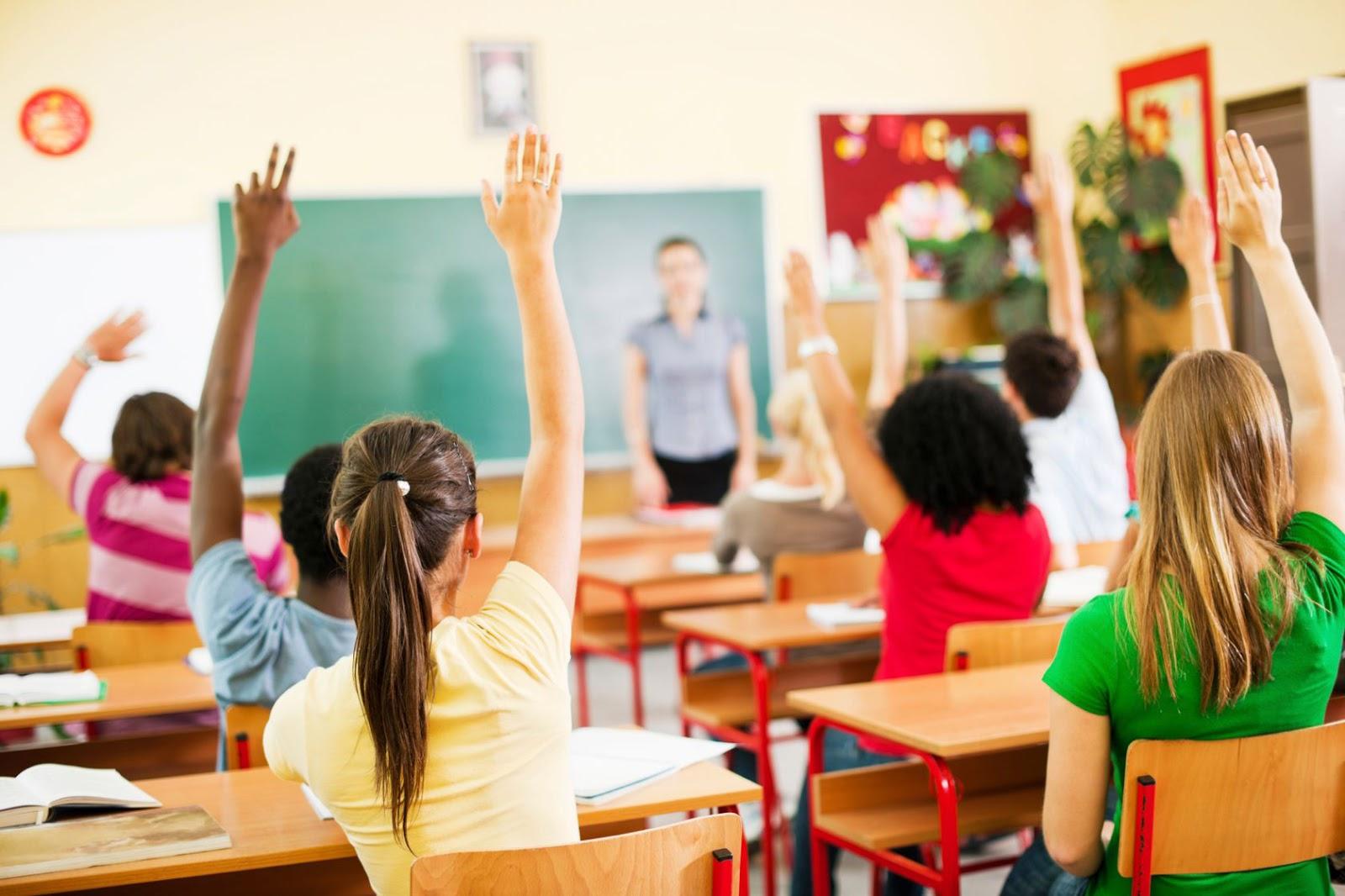 Proses pembelajaran di dalam kelas cewek