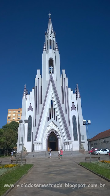 Igreja Matriz Cristo Rei, Cidade Alta, Bento Gonçalves, Serra Gaúcha